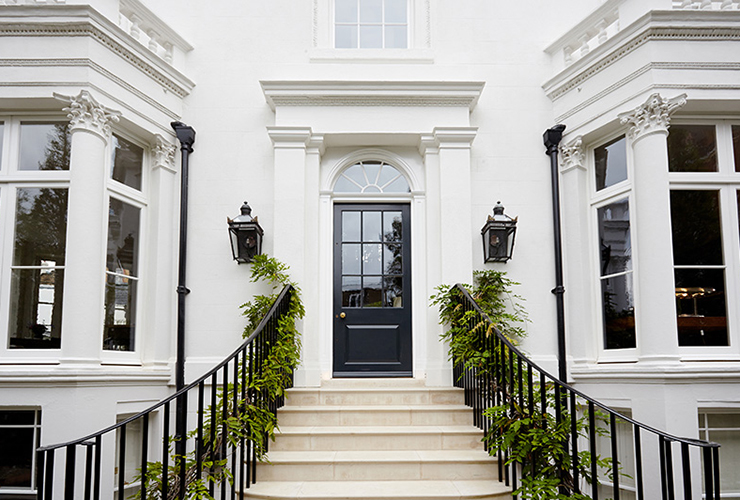 Door Furniture for private residence, Kensington