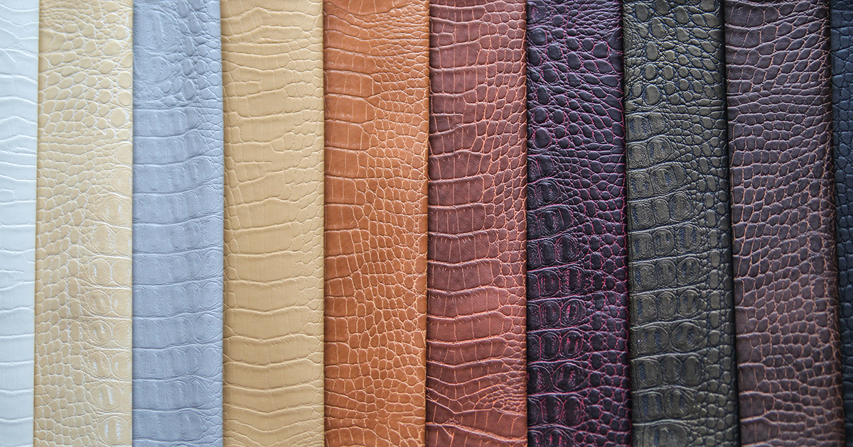 new materials bespoke leathers and skins