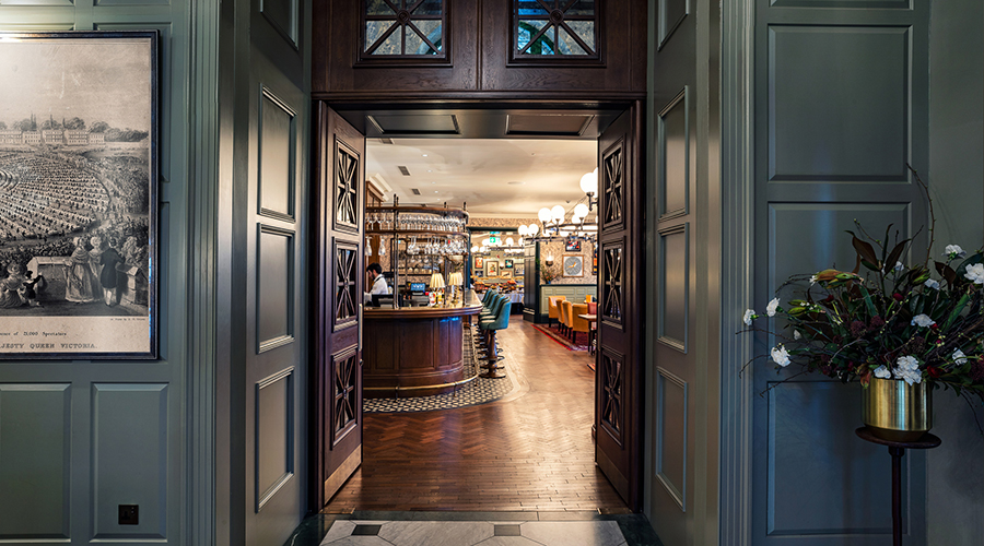 Ironmongery Provided for University Arms Hotel