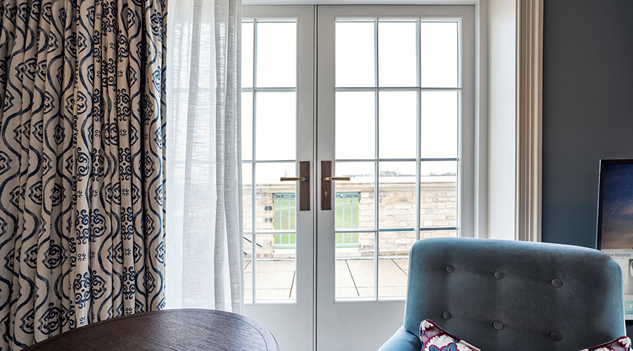 Hotel Room Doors with Strada London Lever Handles Provided